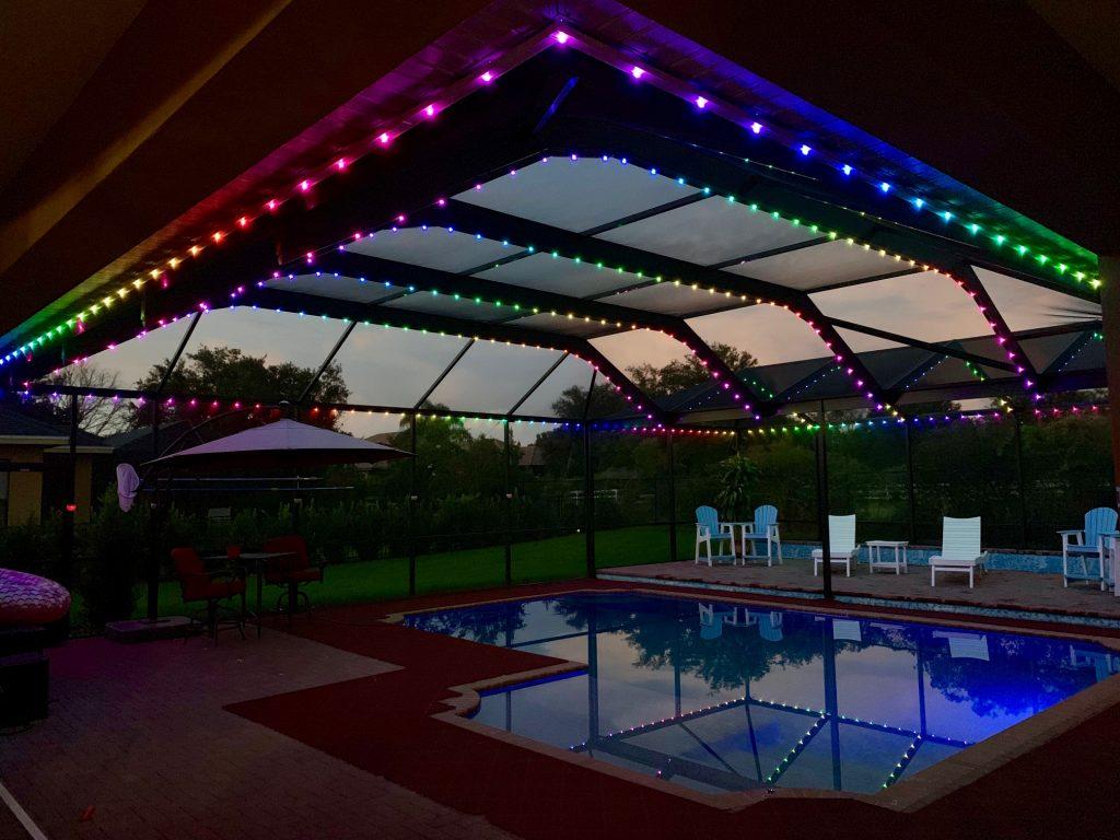 pool patio cages decks docks