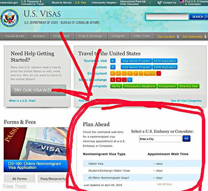 US Visas Viza Wizard Plan Ahead