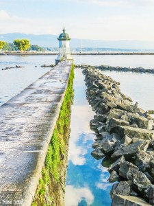 Harbor of Lake Geneva