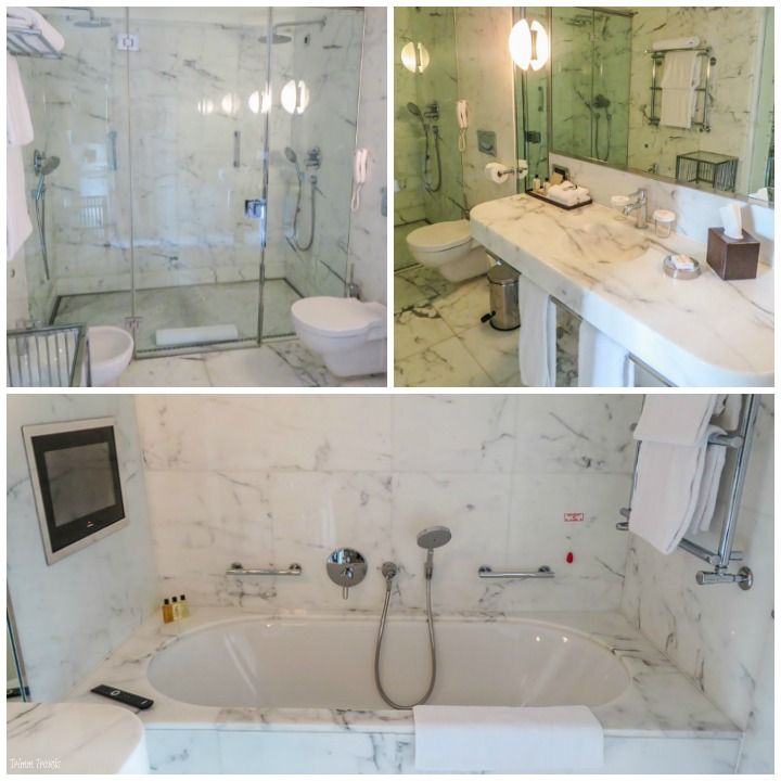 Le Richemond Hotel Bathroom