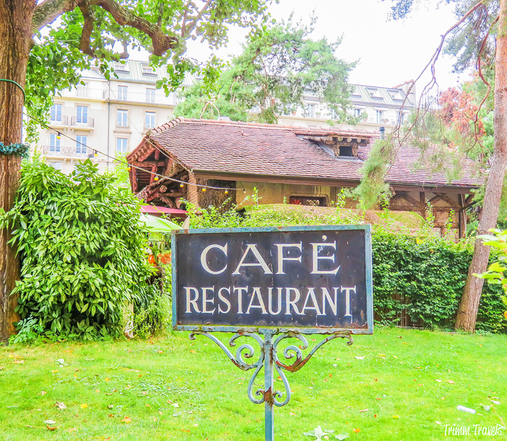 Exterior Cottage Cafe Geneva