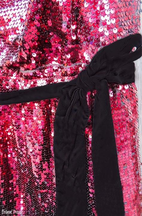 Holiday Events Formal Dress Sash