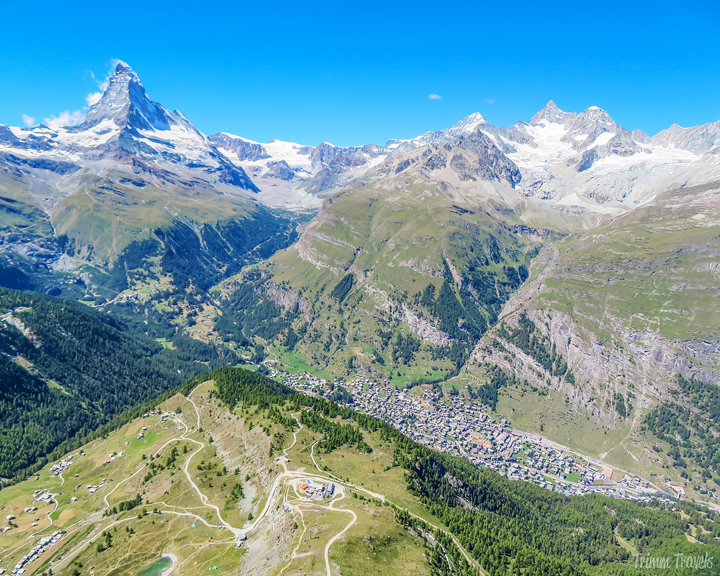 Paragliding Fly Zermatt Switzerland