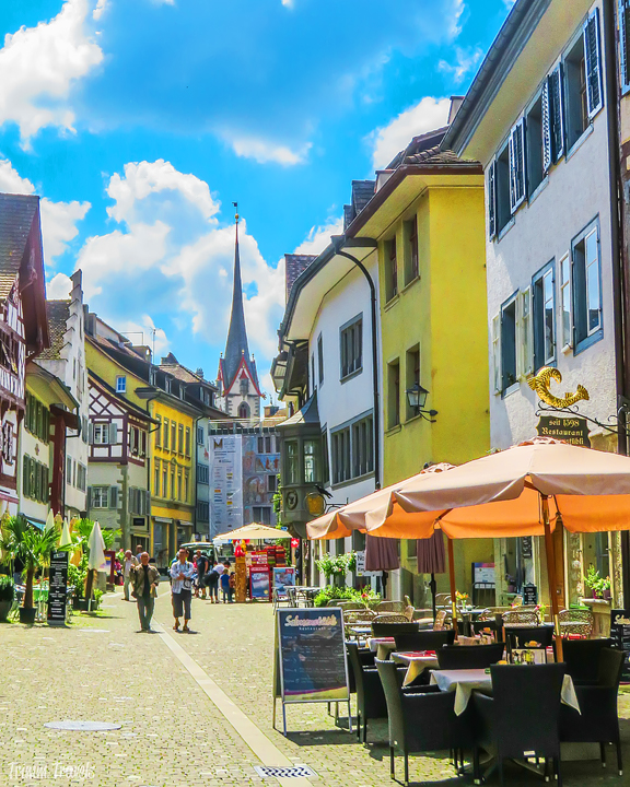 how to see stein am rhein and rhine falls from zurich switzerland