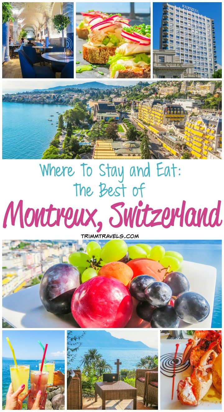 best hotel and restaurants montreux switzerland