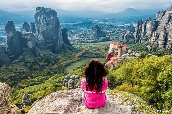 what to see driving meteora to philippi and thessaloniki greece