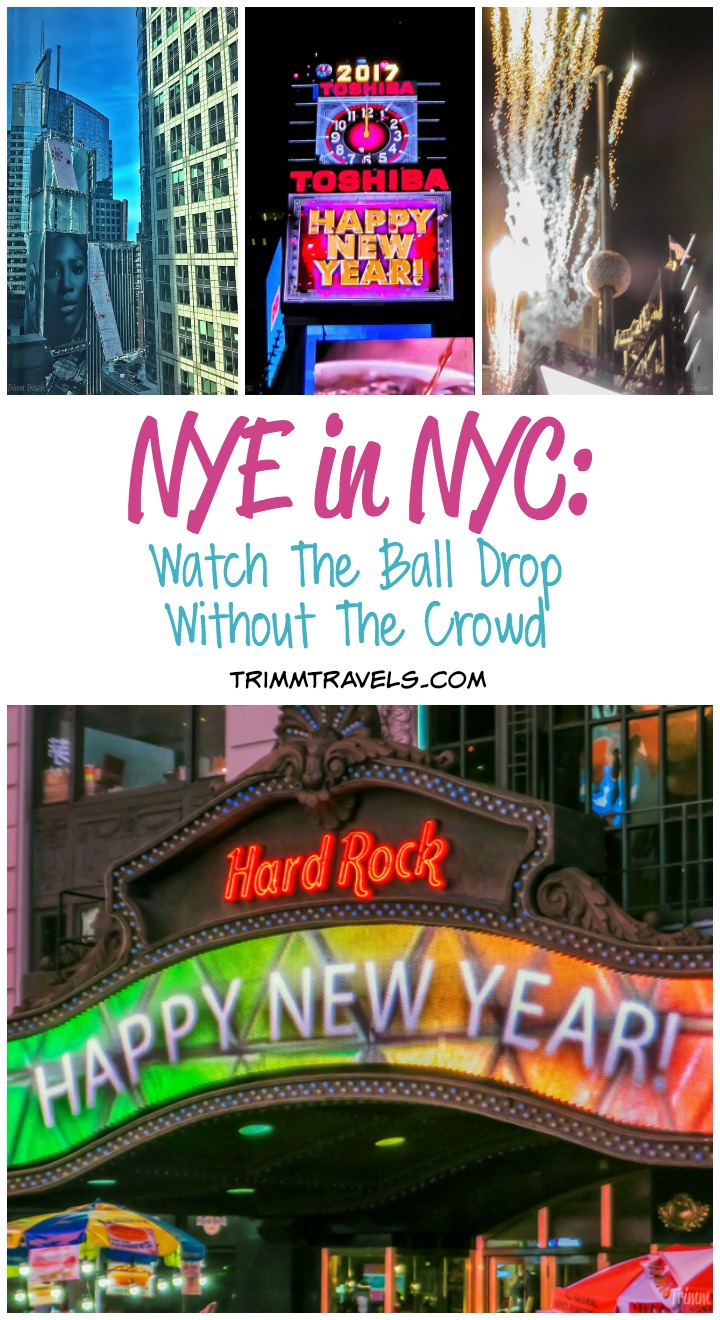 Best Way To Spend NYE in Times Square