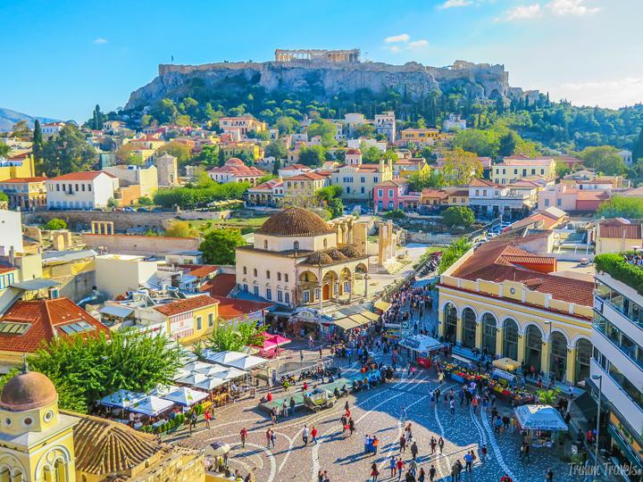 Greece Trimm Travels First Year Birthday Blogversary