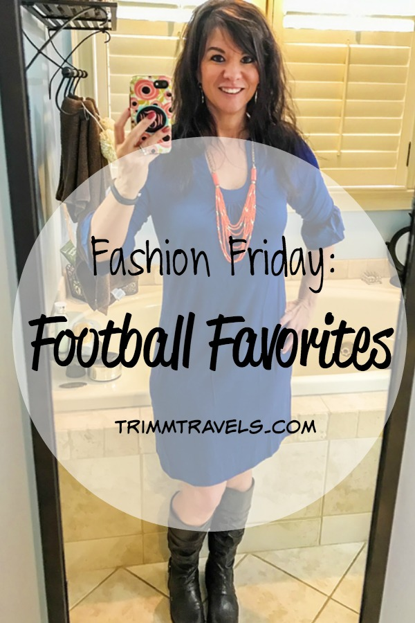Football season is here again! It's fall y'all! Get your inspiration on for football favorites for the perfect game day outfit experience!