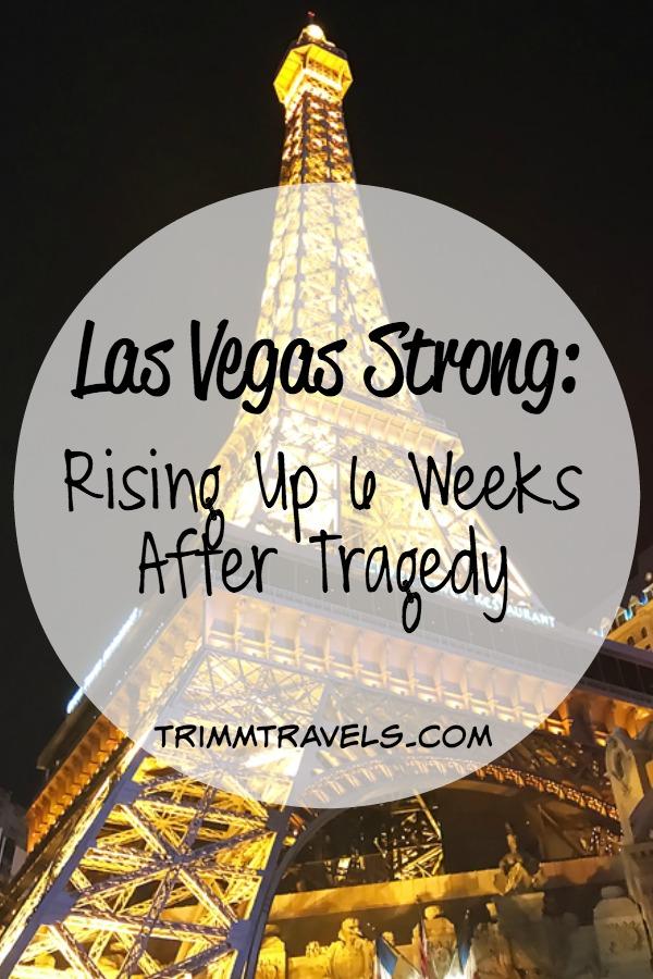Vegas Strong Event after Tragedy Marathon Las Vegas Nevada