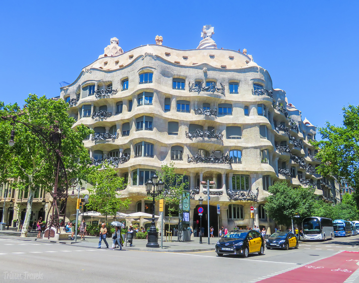 Casa Milà La Pedrera Best Places to See First Time Visitor Barcelona Spain