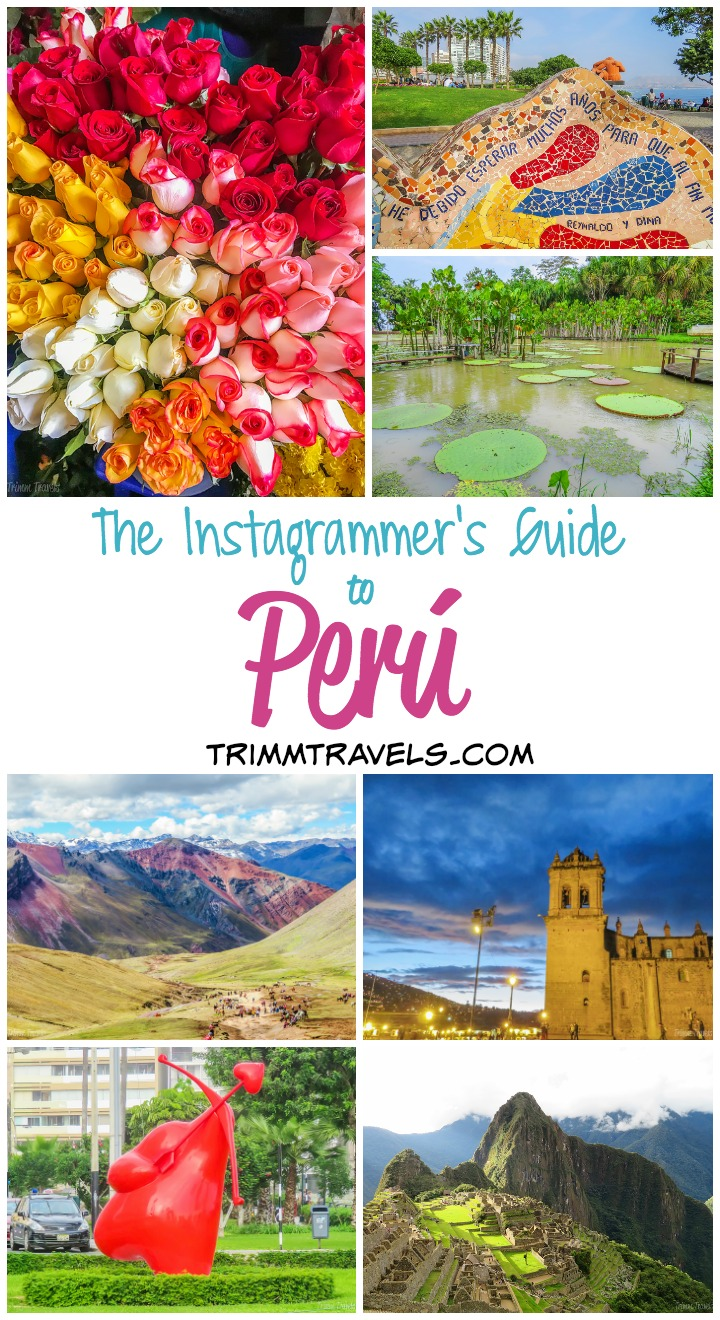 Are you overwhelmed by how much there is to photograph in Perú? Want to be sure you don't miss anything? Then this Instagrammer's Guide to Perú is for you!