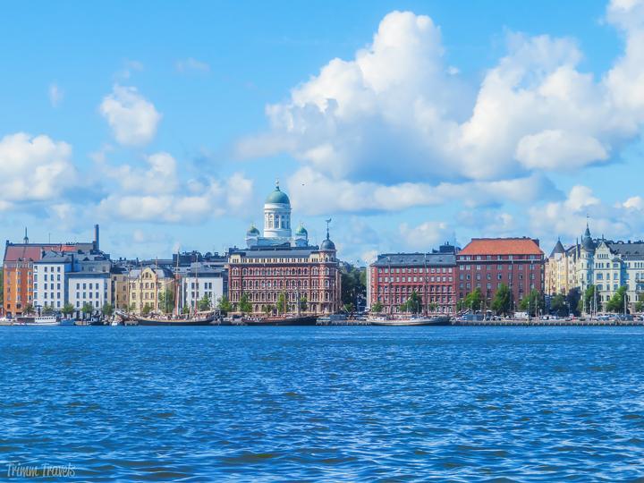 shoreline of Helsinki Finland