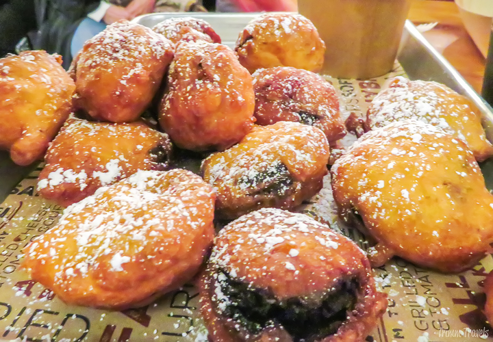 fried oreos in Chelsea Market in New York City