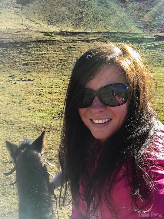 selfie of me on my horse