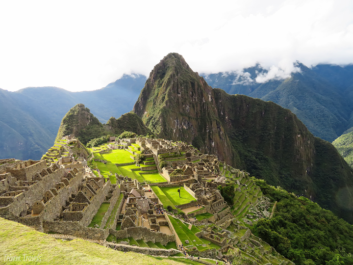 iconic view of machu picchu peru