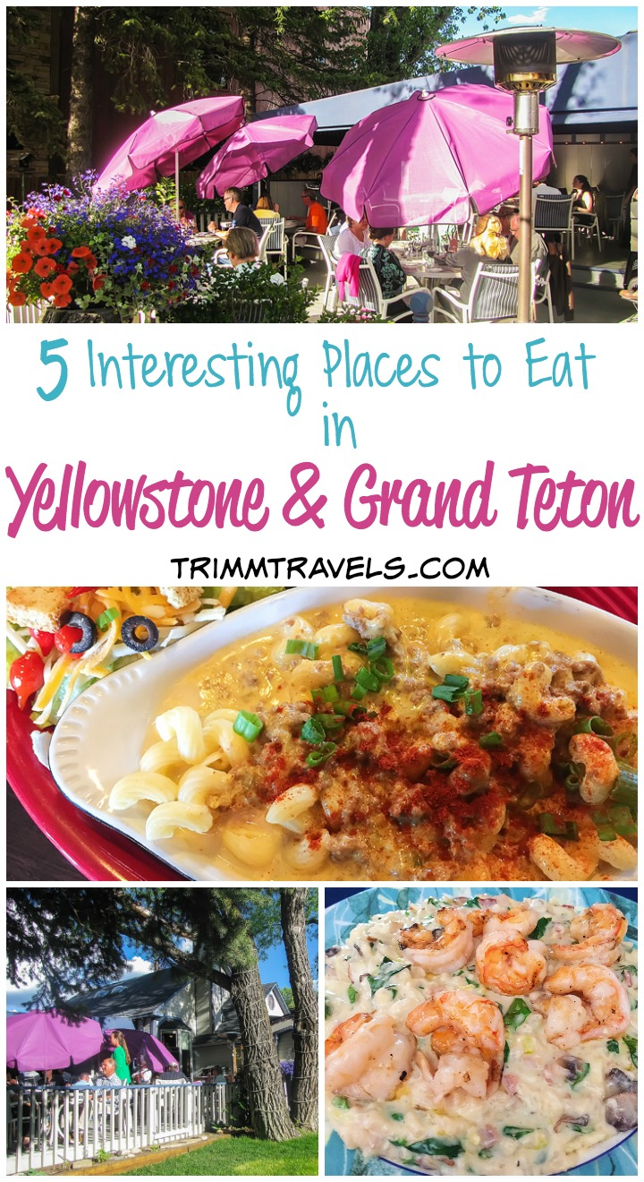 If you're planning a trip to Yellowstone, you might be wondering what your options are when it comes to food. These five interesting places to eat in Yellowstone and Grand Teton National Parks are perfect if you're wanting to find local, unique places with fabulous choices on the menu!