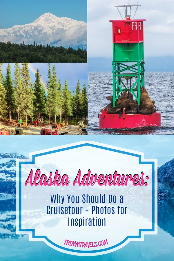 Everyone always talks about an Alaskan cruise and while I am all for a cruise, Alaska is a state to explore by both sea and land. So, I'm sharing my Alaska adventures with you hoping to show why an Alaskan cruisetour is better than just a cruise alone! #alaska #cruise #cruisetour #usa #cruising #adventure #travel #destination