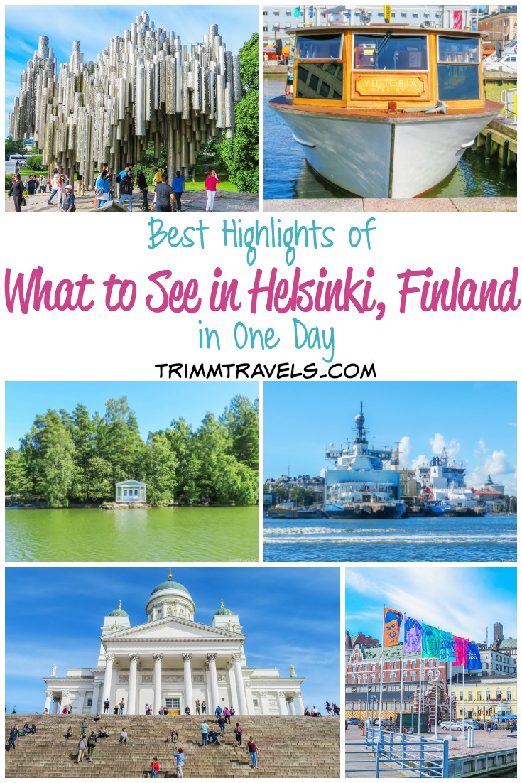 Sometimes you only have a little time to explore a place. Maybe you're on a cruise like I was or a stopover or you could only extend your trip by one day to see an extra destination. If Finland fits that description for you, maximize your time and check out this list of what to see in Helsinki in one day! #helsinki #finland #europe #whattosee #thingstodo #attractions #travel