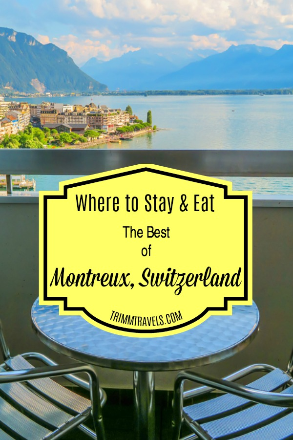 Stay at the hotel with the best views. Eat at the restaurants with the best flavors. Check out where to stay and eat...the best in Montreux! #montreux #switzerland #europe #restaurants #food #hotels #accommodations #destinations #travel