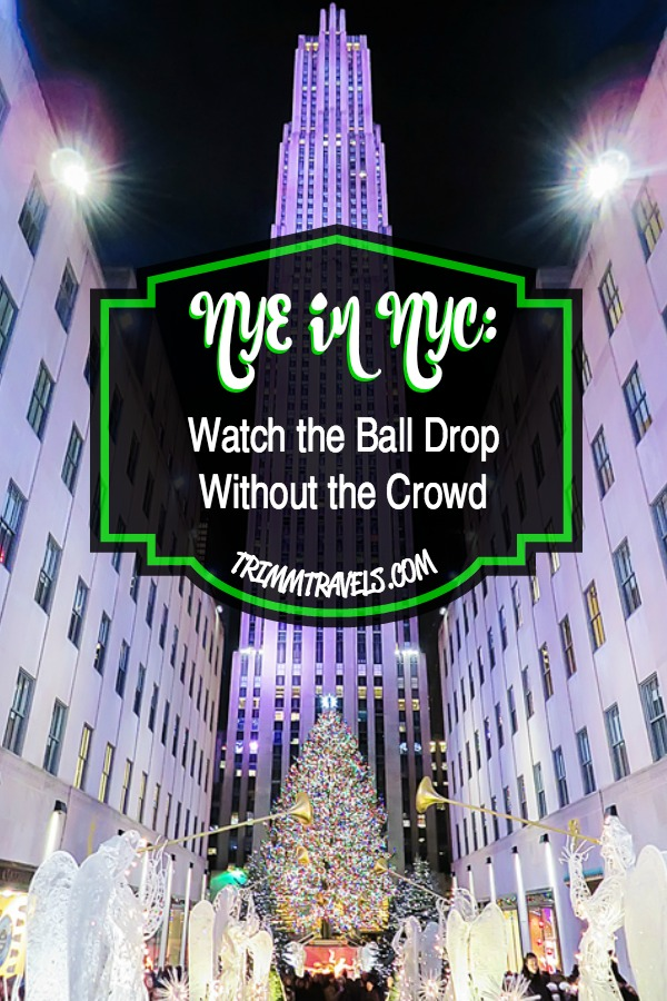 Have you always wanted to watch the ball drop in Times Square on NYE, but don't want to stand in the crowd and cold? That was me too! Here is how we did it! #nye #nyc #newyears #newyearseve #newyork #newyorkcity #timessquare #balldrop #guide #traveltips