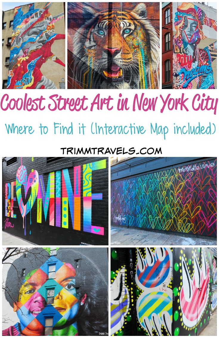 street art nyc map Where To Find The Coolest Street Art In New York City Trimm Travels
