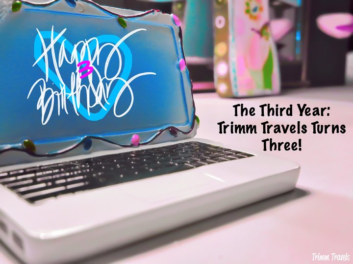 Trimm Travels' third year wasn't going to be outdone by its first two! Once again full of amazing experiences and hopefully many more. Happy Birthday TT! #birthday #milestone #trimmtravels #blogversary #travelblog #blogger