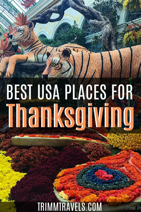 If you're looking to change up your Turkey Day celebration this year, check out these best places to spend Thanksgiving in the United States! #thanksgiving #unitedstates #usa #holiday #fall #holidaytravel #destinations #travel