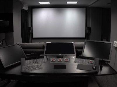 Sala de producción en Madrid
