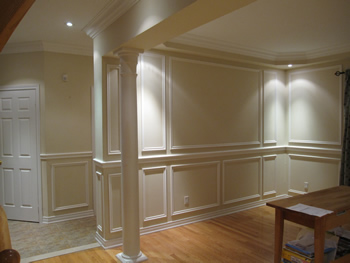 wall panelling on pinterest upholstered walls panelling on wall trim id=33363