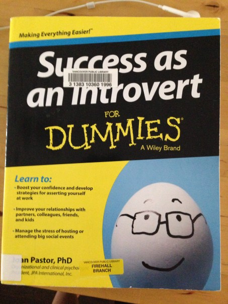 Succss as an Introvert for Dummies