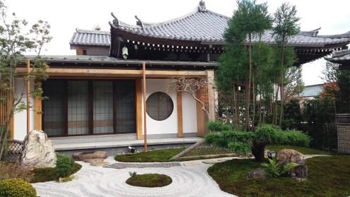 Zen garden in Hasedera, Kamakura.