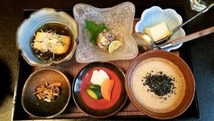 Lunch in Ito. Grand spread.