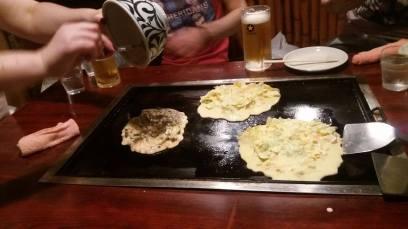 Okonomiyaki - Japan's DIY savoury pancakes