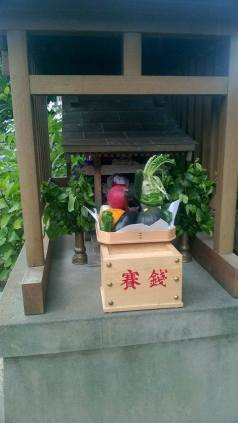 A shrine that could have been dedicated to me. God of veg I SALUTE you