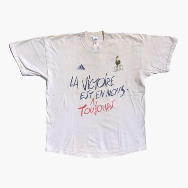 T-shirt la victoire est en nous Euro 2000
