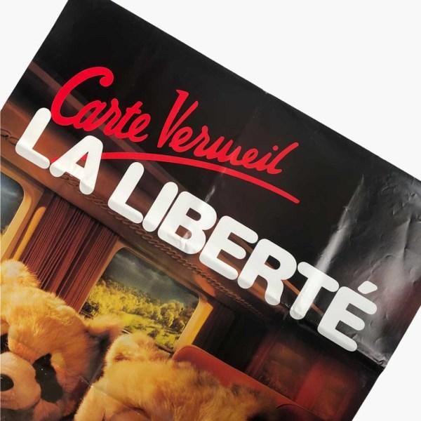 Affiche SNCF La liberté