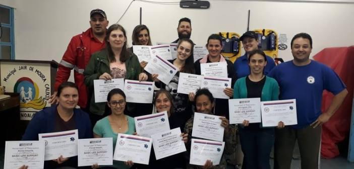 Nonoai – Escola Sibratec realiza curso para profissionais da Saúde