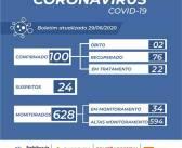 Nonoai atinge a marca de 100 casos de COVID-19