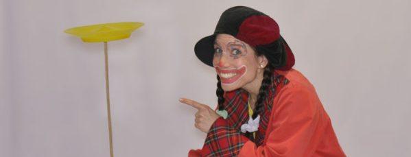 Zirkusprojekte Dortmund mit Clown Trine
