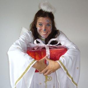 Engel bei Weihnachtshow