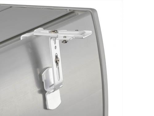 geko store support sans percage pour tout type de store ou rail special coffre de volet roulant a rainure