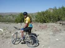 Mountain Biking and Dinosaur Tracks
