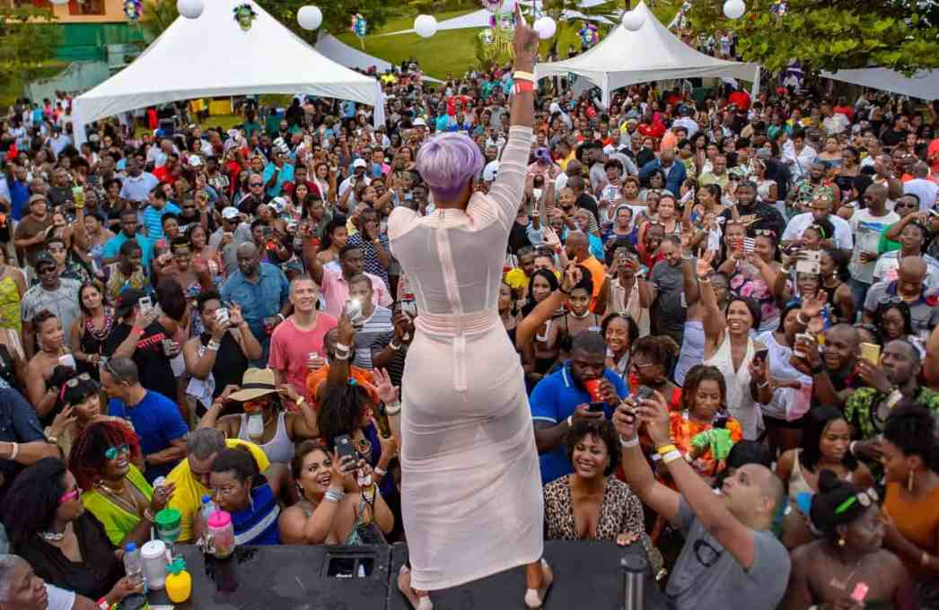 Patrice Roberts at Bring It cooler fete in January 2018.