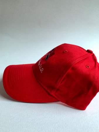 Red Trinidad Baseball Cap