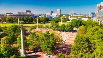 Olympic Park: Atlanta Georgia