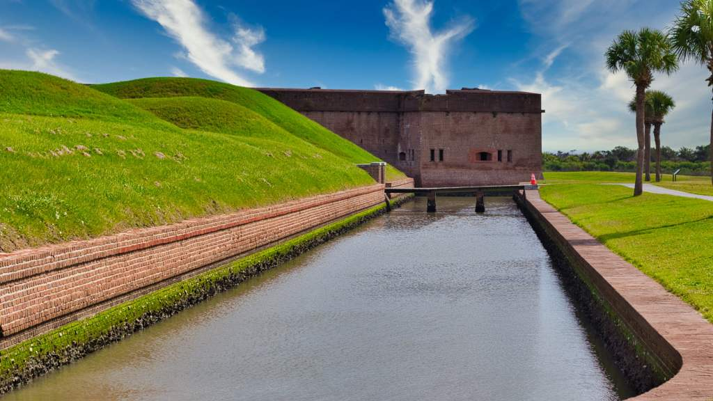 Fort Pulaski Draw Bridge
