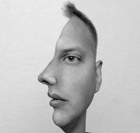 Double face, photo by jDtnt