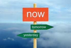 now tomorrow yesterday