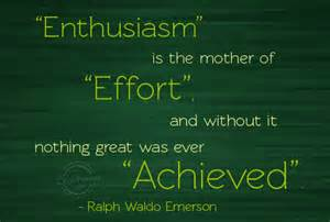 Enthusiasm quote